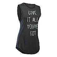Womens Under Armour Give It All CM Tunic Short Sleeve Technical Tops