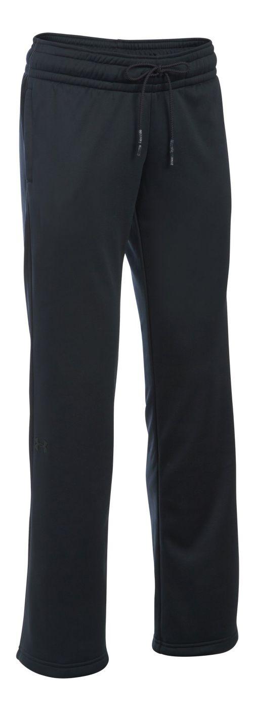 Womens Under Armour Lightweight Storm Fleece Pants - Black LT