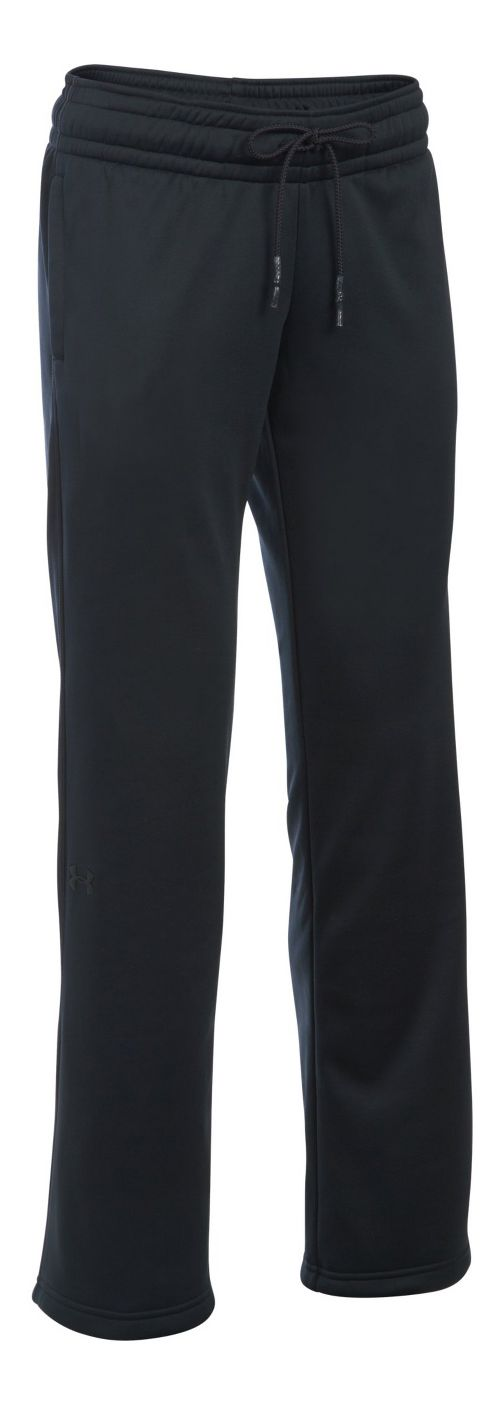 Womens Under Armour Lightweight Storm Fleece Pants - Black ST