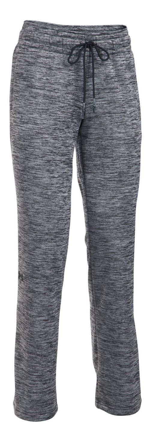 Womens Under Armour Lightweight Storm Fleece Twist Pants - Black L