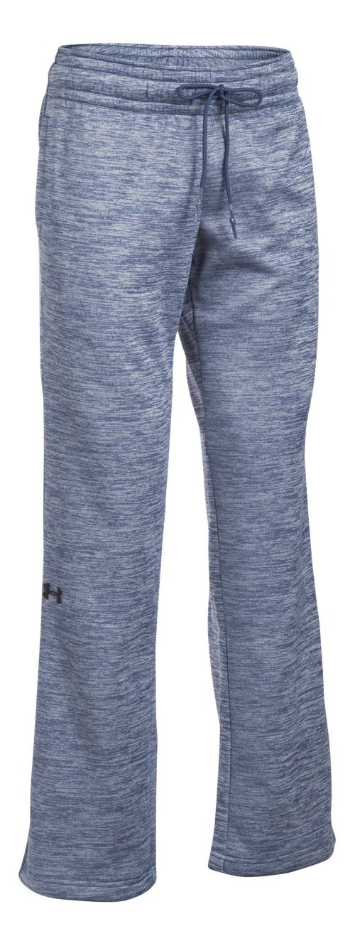 Womens Under Armour Lightweight Storm Fleece Twist Pants - Faded Ink XS