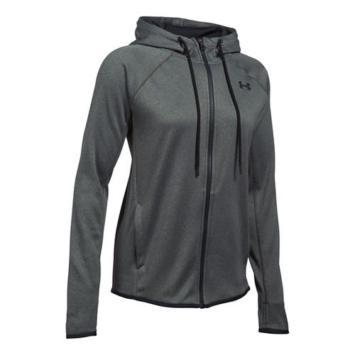 Womens Under Armour Lightweight Storm Fleece Full-Zip Hoodie & Sweatshirts Technical Tops - ...