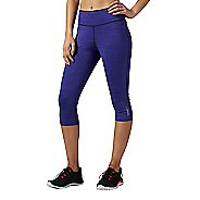 Womens Reebok Workout Ready Reversible Capris Pants