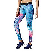 Womens Reebok Tree Tights & Leggings Pants