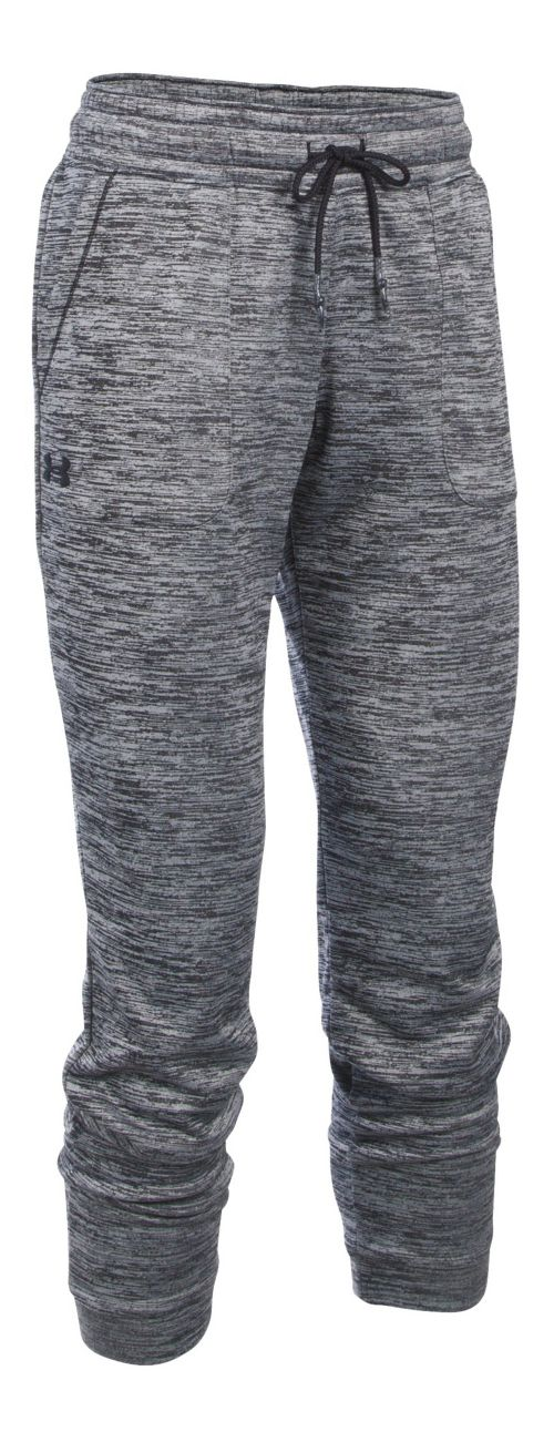 Womens Under Armour Lightweight Storm Armour Fleece Jogger Twist Pants - Black M
