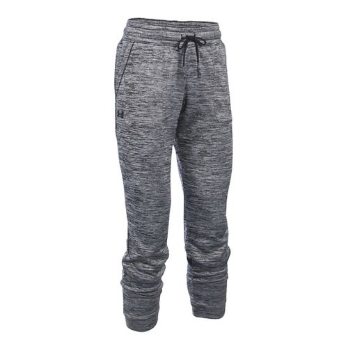 Womens Under Armour Lightweight Storm Fleece Jogger Twist Pants - Black L