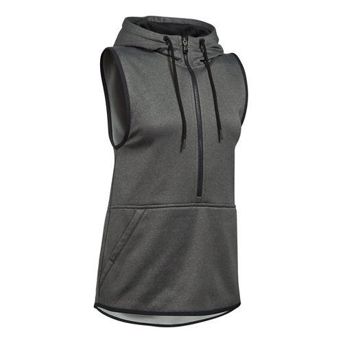 Womens Under Armour Lightweight Storm Fleece Vest Sleeveless & Tank Tops Technical Tops - ...