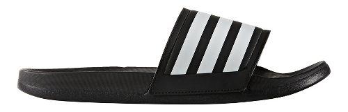 Mens adidas Adilette CF Ultra Stripes Sandals Shoe - Core Black/White 6