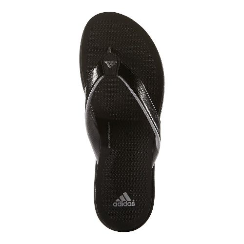 Womens adidas Cloudfoam Ultra Y Sandals Shoe - Black/Grey 10
