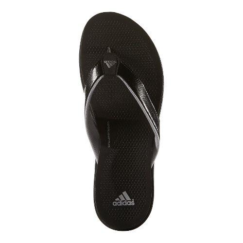 Womens adidas Cloudfoam Ultra Y Sandals Shoe - Black/Grey 6