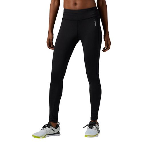 Womens Reebok Work Out Ready Program Tights & Leggings Pants - Black M