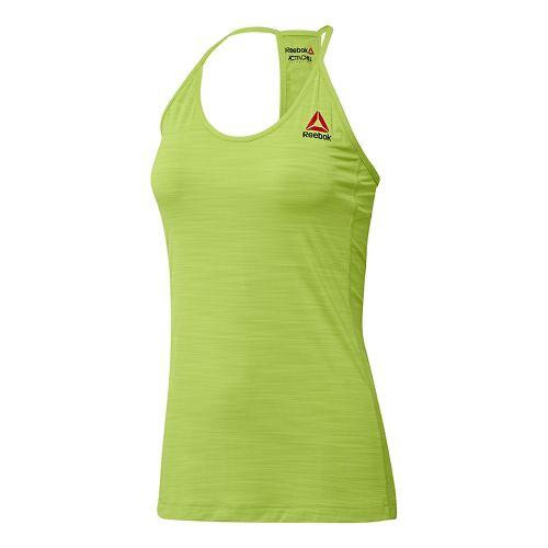 Womens Reebok ACTIVChill Sleeveless & Tank Tops Technical Tops - Kiwi Green M