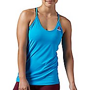 Womens Reebok ACTIVChill Sleeveless & Tank Technical Tops