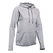 Womens Under Armour Storm Armour Fleece Icon Twist Half-Zips & Hoodies Technical Tops