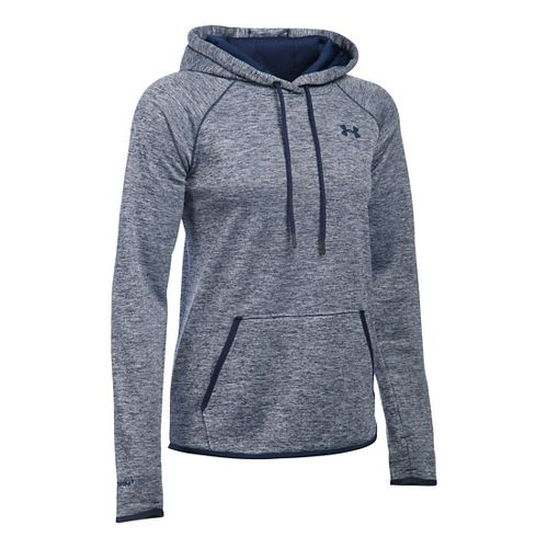 Womens Under Armour Storm Fleece Icon - Twist Hoodie & Sweatshirts Technical Tops - Midnight ...