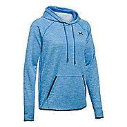 Womens Under Armour Storm Fleece Icon - Twist Hoodie & Sweatshirts Technical Tops