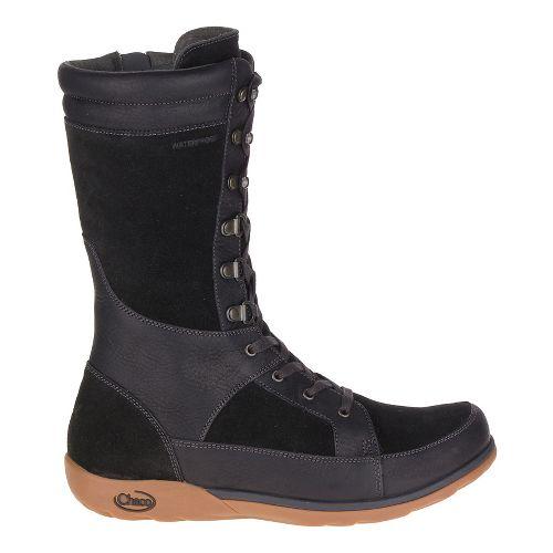 Womens Chaco Lodge Waterproof Casual Shoe - Black 7.5