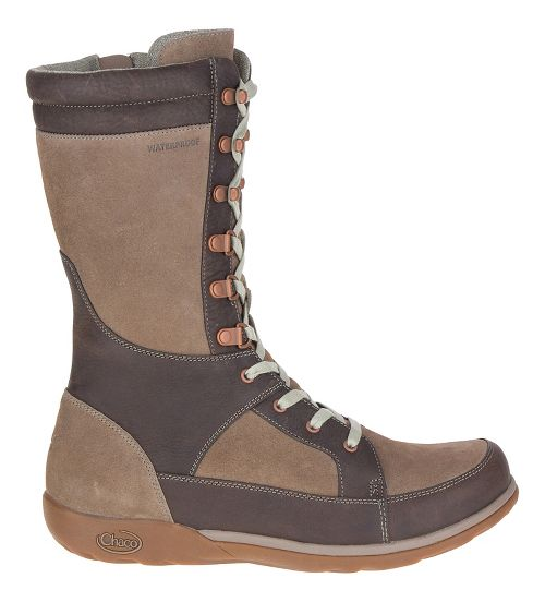 Womens Chaco Lodge Waterproof Casual Shoe - Fossil 7