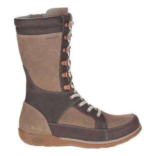 Womens Chaco Lodge Waterproof Casual Shoe - Fossil 8