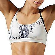 Womens Reebok Crossfit Skinny Strap Porcelain Sports Bras