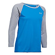 Womens Under Armour Tech 3/4 Long Sleeve Technical Tops