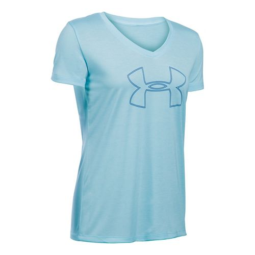 Women's Under Armour�Tech Branded Short Sleeve V-Neck Twist