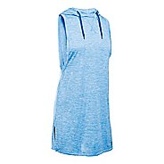 Womens Under Armour Tech Hooded Tunic Twist Sleeveless & Tank Tops Technical Tops