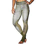 Womens Reebok RNF Ankle Lock Tights & Leggings Pants