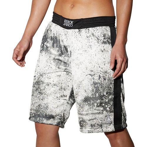Womens Reebok RNF Boxing Lined Shorts - Chalk S