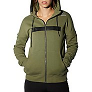 Womens Reebok RNF Oversize Half-Zips & Hoodies Technical Tops