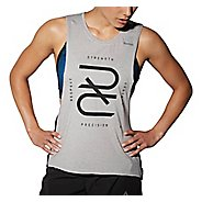 Womens Reebok RNF RRR Tank Half-Zips & Hoodies Technical Tops