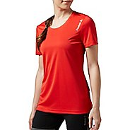 Womens Reebok Running Essentials Tee Short Sleeve Technical Tops