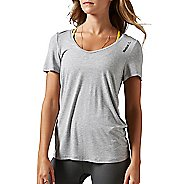 Womens Reebok Studio Faves Tee Short Sleeve Technical Tops
