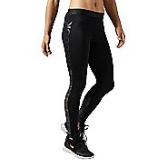 Womens Reebok Workout Ready Logo Tights & Leggings Pants