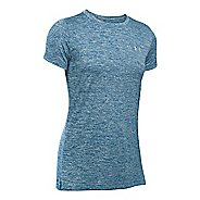 Womens Under Armour Tech Crew Twist Short Sleeve Technical Tops