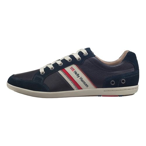 Mens Helly Hansen Kordel Leather Casual Shoe - Navy/Natural/Sperry 10