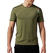 Mens Reebok One Series ACTIVChill Bonded Short Sleeve Technical Tops