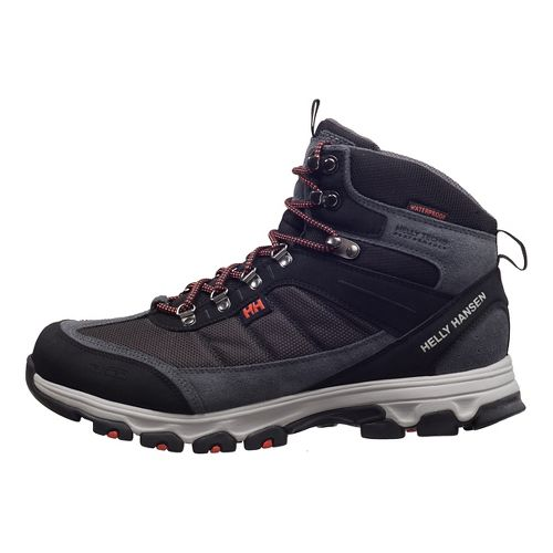 Mens Helly Hansen Rapide Mid Mesh HT Hiking Shoe - Black/Ebony/Rusty 10.5