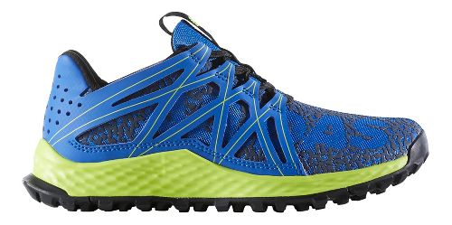 Kids adidas Vigor Bounce J Running Shoe - Blue/Yellow 6Y