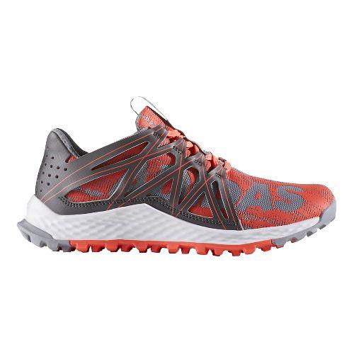 Kids adidas Vigor Bounce J Running Shoe - Grey/Coral 6Y