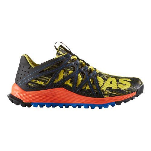 Kids adidas Vigor Bounce J Running Shoe - Yellow/Black 5Y