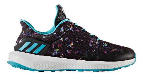 Kids adidas Rapidarun Uncaged K Running Shoe - Black/Multi 3Y