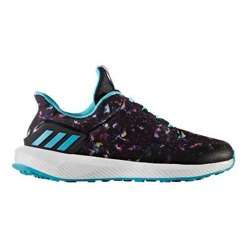 Kids adidas Rapidarun Uncaged K Running Shoe - Black/Multi 11C