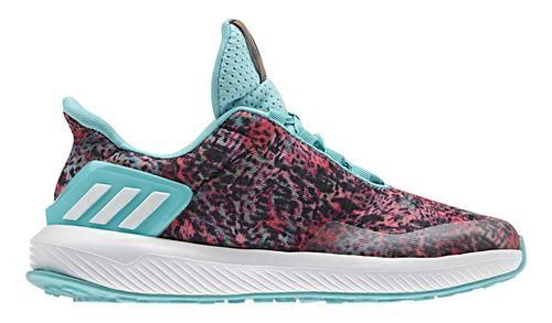 Kids adidas Rapidarun Uncaged K Running Shoe - Coral/Mint 11C