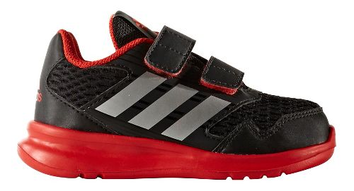 Kids adidas Altarun CF I Running Shoe - Black/Red 8C