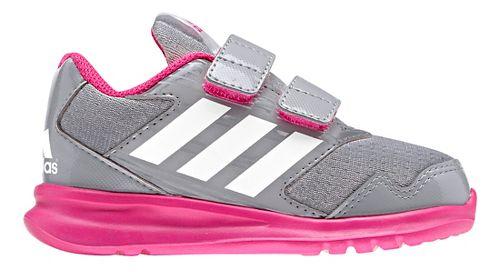 Kids adidas Altarun CF I Running Shoe - Grey/Pink 8C