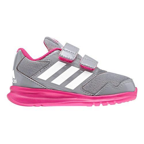 Kids adidas Altarun CF I Running Shoe - Grey/Pink 5C