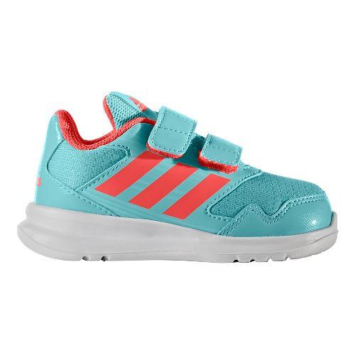 Kids adidas Altarun CF I Running Shoe - Aqua/Coral 10C