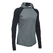 Womens Under Armour Streaker Hoodie & Sweatshirts Technical Tops - Black M