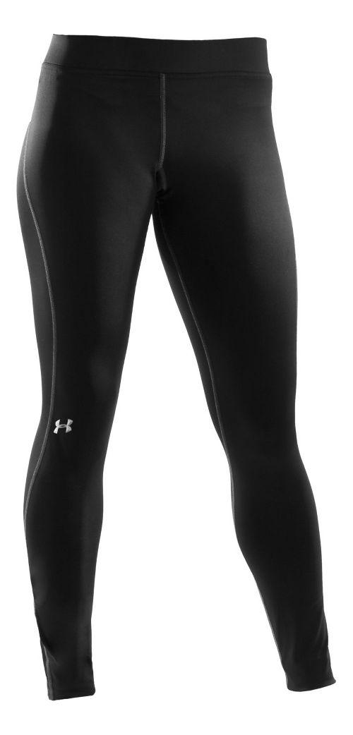 Womens Under Armour ColdGear Authentics Tights & Leggings Pants - Black M